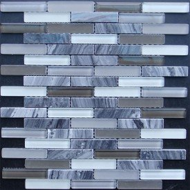 gardenstatetile-glass-grey-blend-linear Choosing Glass Tiles