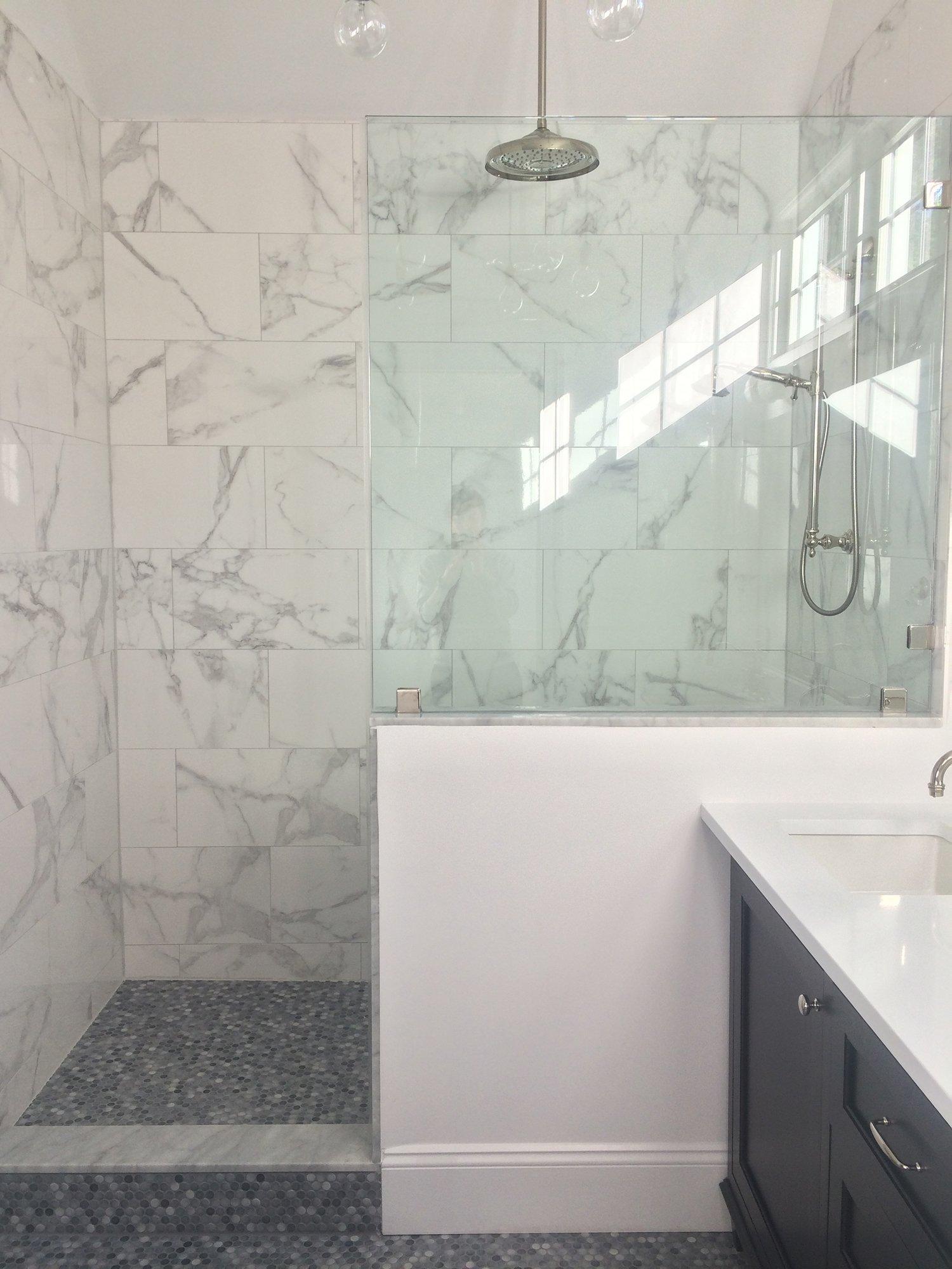 Marca Corona Deluxe White Gsm Mosaics Stone Garden State Tile