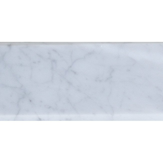 White Carrera Threshold Garden State Tile - Daltile marble threshold