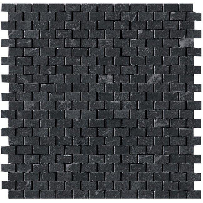 Graphite Brick Mosaic Garden State Tile