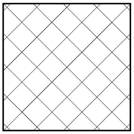 Diagonal 12x12 Garden State Tile