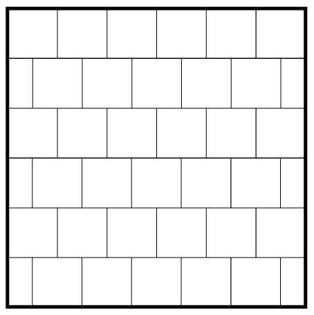 Running Bond 40x40 Garden State Tile Magnificent Running Bond Pattern