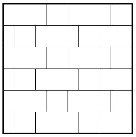 Running Bond 12x24 Amp 12x12 Garden State Tile