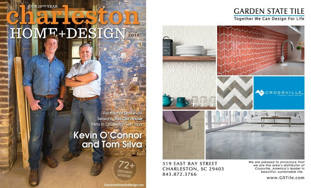 Charleston Home & Design Magazine | Garden State Tile
