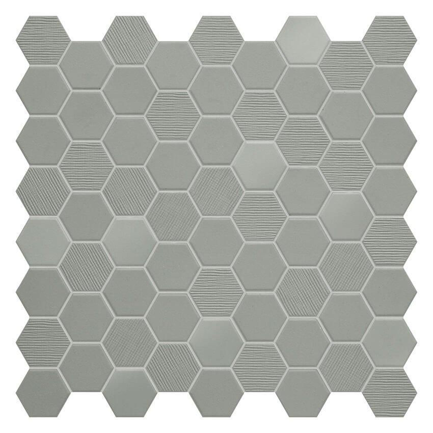 Wild Sage Fabric Mix Mosaics Garden State Tile