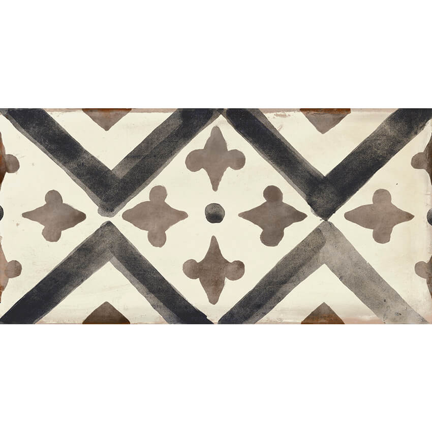Dao Sleek Deco Beige Garden State Tile