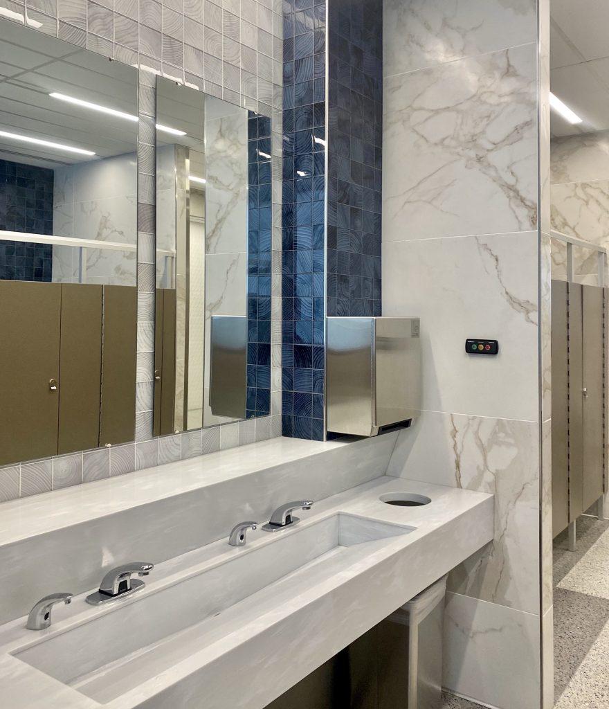 Healthy Design Airport Bathroom